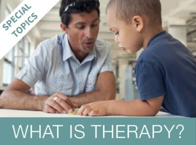 What is therapy? Online Training