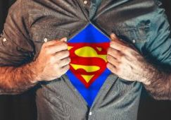 SUPERMAN was adopted too...whats your SUPER POWER?